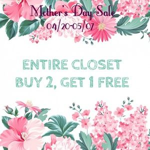 B2G1 FREE MOTHERS DAY SALE